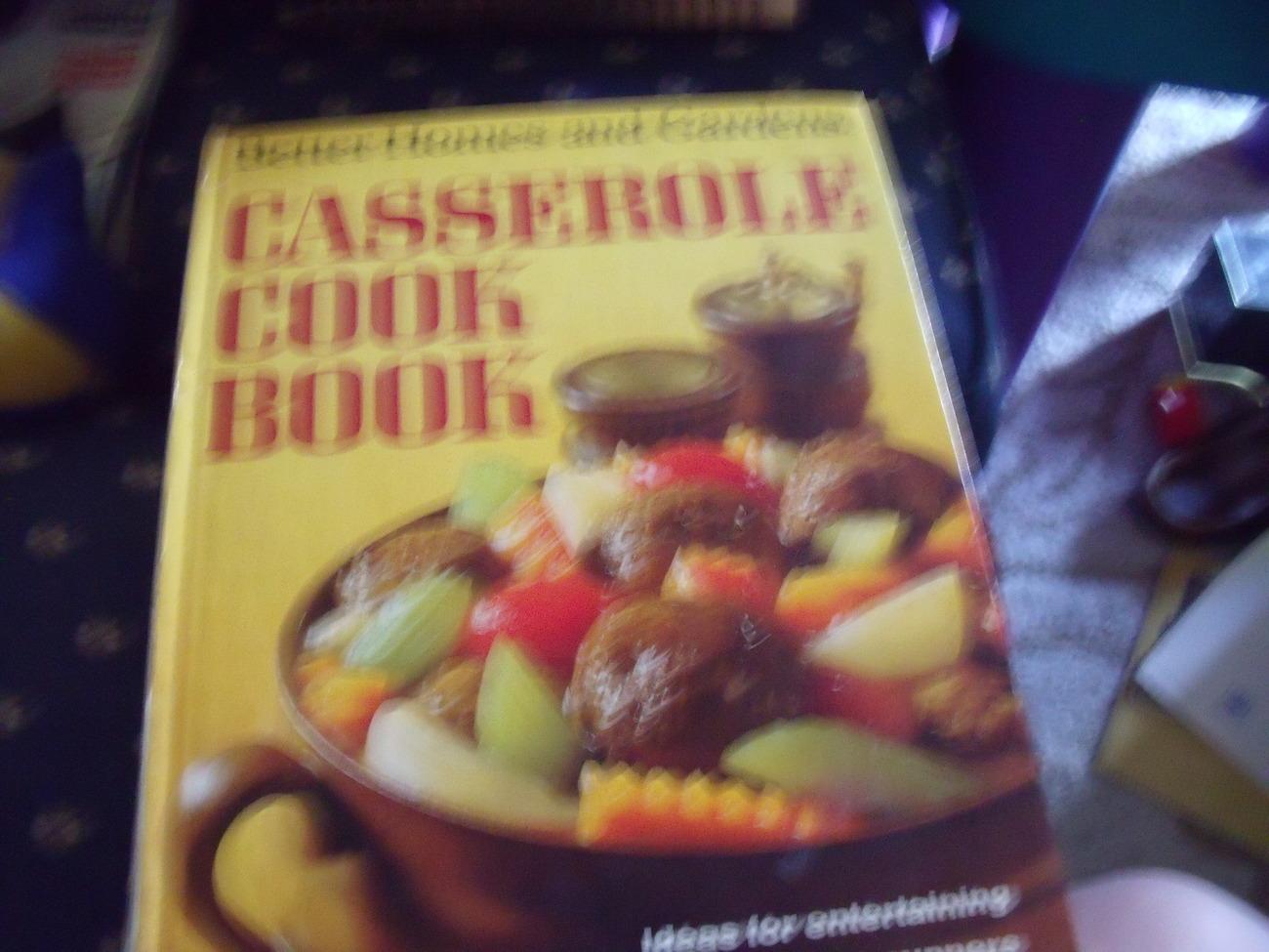 Better Homes Gardens Casserole Cook Book Circa 1968 Cookbooks