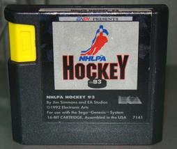 SEGA GENESIS - ESPN PRESENTS NHLPA HOCKEY 93 (Game Only) - $12.00