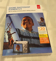 Adobe Photoshop Elements 9 (Win/Mac) [OLD VERSION] - $71.39