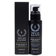 ZEUS Refined Beard Oil - Best Leave In Concentrated Moisturizing Softener & Cond image 3