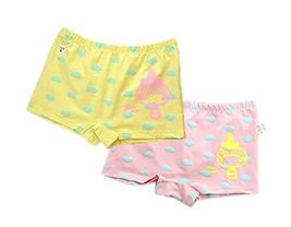 PANDA SUPERSTORE 2 Pcs Lovely Underpants Cloth Pants Reusable Cartoon Underwears