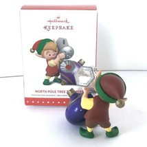 Hallmark Keepsake Ornament 3rd In The North Pole Tree Trimmers Series 2015 New image 2