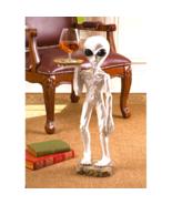Roswell, the Alien Butler Pedestal Sculptural Table - $121.76