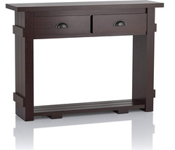 IoHOMES Wendell Transitional Console Table, One Size, Walnut - $241.98