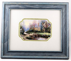 Thomas Kinkade BEYOND SPRING GATE Small Art Pri... - $18.99