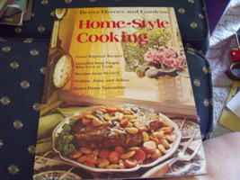 "Better Homes & Gardens ""Home Style Cooking"" Cookbook circa 1975 - $12.00"