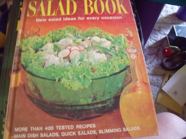 """Better Homes and Gardens """"Salad Book"""" second printing 1970 - $12.00"""