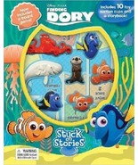 Disney Finding Dory Stuck on Stories Board book... - $12.86