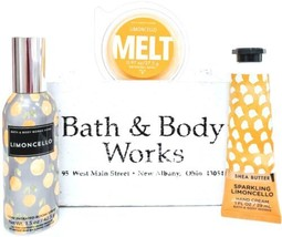 Bath and Body Works Limoncello Wax Melt, Room Perfume & Hand Cream - $20.22