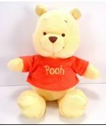 "Disney Winnie the Pooh Plush Stuffed Animal Toy Silky Feet 8"" Crackle ears - $13.85"