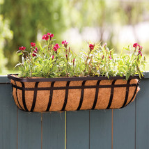 Panacea Black Window Planter 36 Inch - $99.45
