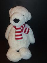 "Jellycat 12"" Polar Bear White Super Soft Silky Toy Plush Retired - $19.99"