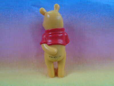 Disney Winnie The Pooh Solid PVC Figure or Cake Topper Hand in Back