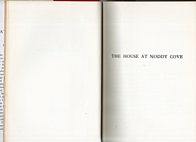 The House At Noddy Cove By Elizabeth Foster (Hardcovered 1949) image 4