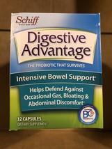 Schiff Digestive Advantage Probiotic Intensive Bowel Capsule, 32 Count-1... - $16.61