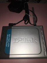 D-Link DI-524 54 Mbps 1-Port 10/100 Wireless G Router (DI-524UP/E) - $7.92
