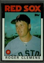 1986 Topps #661 Roger Clemens Baseball Card! Boston RED SOX NM-MT Cy You... - $1.64