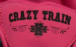 Crazy Train RUNWILD14 Black Pink Cheetah Sneakers Size 11 image 6