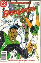 The Green Lantern Corps Comic Book #218 DC Comics 1987 FINE+ - $2.50