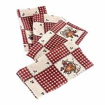 Linda Spivey Kitchen Decor Table Cloth Linens Primitive Country Hearts S... - $27.94