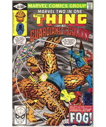 Marvel Two-In-One Comic Book #69 The Thing & Guardians of the Galaxy 198... - $7.84