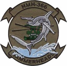 USMC HELICOPTER HMH 366 Hammerheads Patch - $11.87