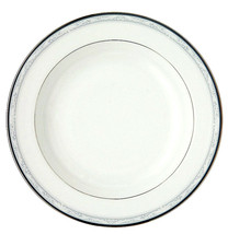 "Waterford China Alana Rim Soup Bowl 9"" #119423 New - $108.90"