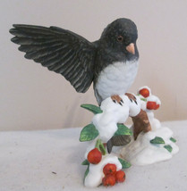 Lenox Garden Bird Collection-Fine Porcelain-DARK-EYED Junco - $25.00
