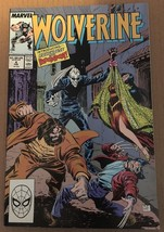 Wolverine #4 Marvel Comic Book 1989 NM 9.0 Condition X-MEN Roughouse Blo... - $8.99