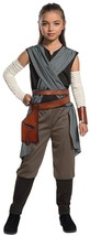 Rey Star Wars Last Jedi Knight Master Fancy Dress Up Halloween Child Cos... - $23.67