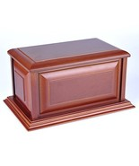 MKY Nice MDF Cherry Color Funeral Cremation Urn for Human Ashes - $92.56