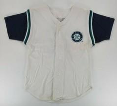 MLB Baseball Seattle Mariners Jersey Youth Small 8 Genuine Merchandise Blue - $29.70