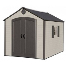 Lifetime 8x10 ft Plastic Shed Kit - Ridge Skylight (60056) - $1,345.45