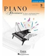 Faber Piano Adventures Level 2B Lesson Book 2nd Edition 420177 NEW ! - $7.59