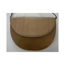 Vintage 1960s Moon Clutch -Joseph Made in Italy- Bronzed Olive Clutch Purse - $79.19