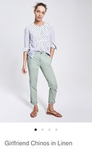 GapFactory Girlfriend Chinos In Linen: 4 Regular - $20.79