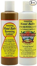 Maui Babe Before and After Sun Pack (Browning Lotion 8 oz, After Brownin... - $30.15