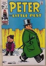 PETER THE LITTLE PEST #3 (1970) Marvel Comics VG+/FINE- - $9.89
