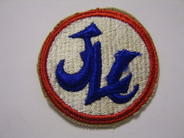 Japan Logistical Command Patch Original 1950s ISSUE:TX16-1 - $4.00