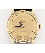 Omega Gold-Plated Vintage Constellation w/ Gold Pie Pan Dial 167005 - $2,524.49