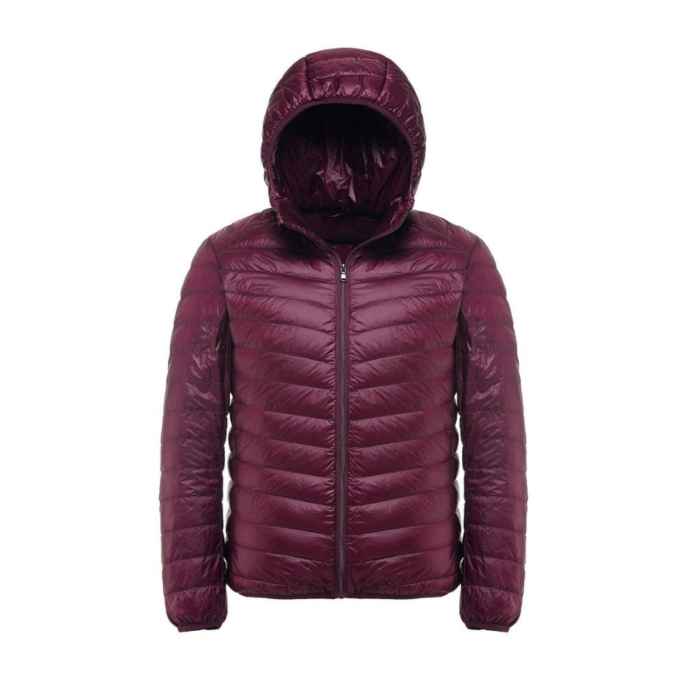 New Casual Brand White Duck Down Jacket Men Autumn Winter Warm Coat Men's Ultral
