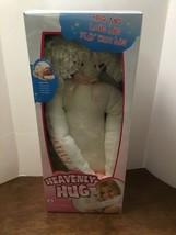 Heavenly Hug 24 inch Soft Angel Doll Pink Accents New in Box Hug Me Love Me - $50.00