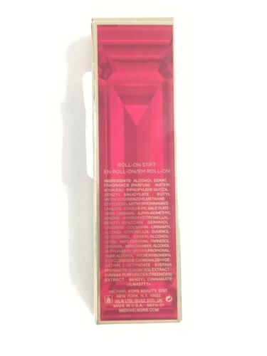 Michael Kors Sexy Rubino Edp Parfum Rollerball Roll-On Donna 0.34 Oz. 10 ML