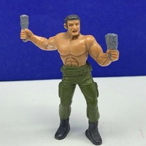 Guts military action figure toy 1986 mattel jungle fighters grenade thro... - $16.78