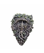 Pacific Giftware Greenman Face Resin Figurine Wall Plaque - $19.79