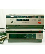 Magnavox Escort XE and Magnavox Tuner Adapter Vintage 1980's with remote - $25.00