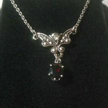 Vintage AVON Genuine Garnet Necklace NIB - $24.74