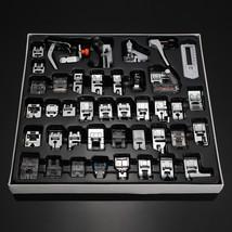 42 PCS Domestic Sewing Machine Foot Presser Feet Kit Sewing Machine Acce... - $37.98