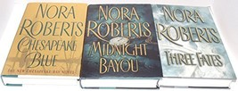 Author Nora Roberts Three Book Bundle Collection Set, Includes: Three Fa... - $39.55