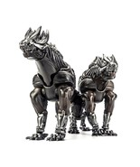 Bombox Transformers BX1 Red Dragonfly Lockdown Dog Set of 2 Steeljaw Fig... - $89.99